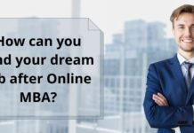 Land your dream job after Online MBA