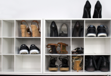 DIY shoe cabinet solutions for a tidy home